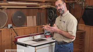 Woodworking Tips: Router - Why A Router Lift?