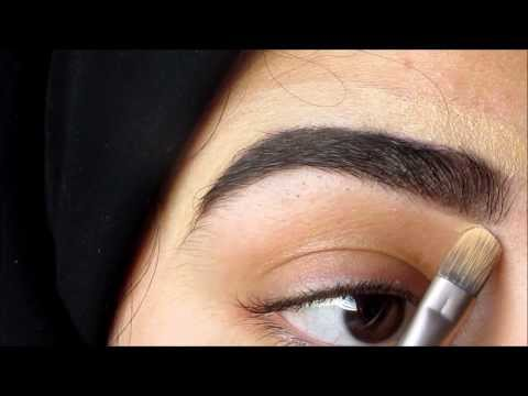طريقتي في رسم حواجبي How I fill in my eyebrows