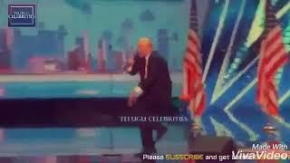 Trump dance on Telugu folk song music by modi ji.