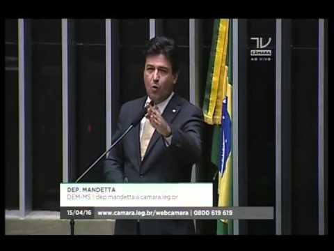 Dep. Mandetta (DEM) fala sobre o declínio do governo e defende o impeachment da presidente Dilma