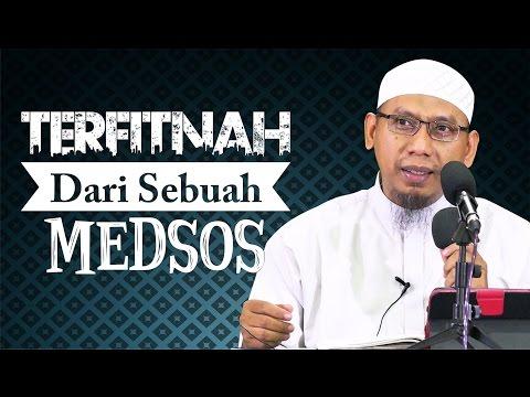 Video Singkat: Terfitnah Dari Sebuah Medsos - Ustadz Muhammad Ali Abu Ibrahim