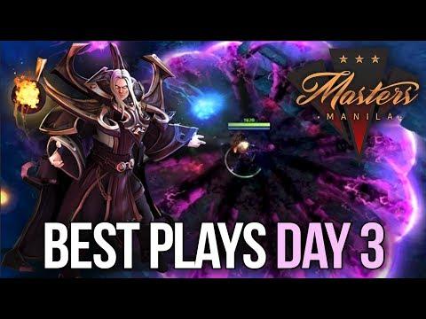 Manila Masters Dota 2 - BEST PLAYS - Day 3