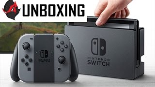 Nintendo Switch Unboxing and Setup