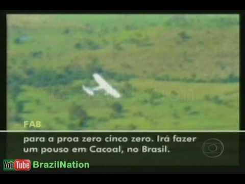 Lei do abate pela 1ª vez caça da FAB atira e obriga avião de traficantes a pousar
