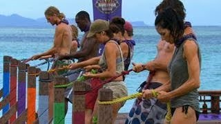 Survivor Blood Vs Water Immunity Reward Challenge Back Splash