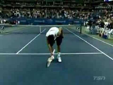 Novak Djokovic Impersonations - US Open '07