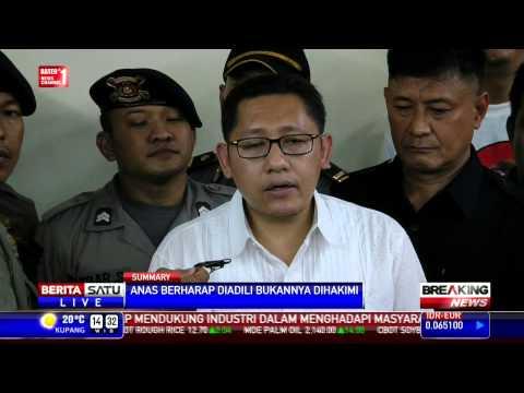 Breaking News: Konferensi Pers Anas Jelang Sidang Vonis