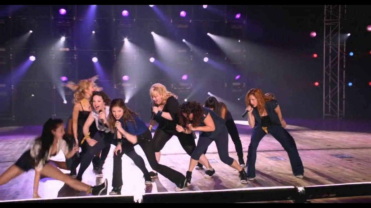 Song Scenes From Pitch Perfect Final Song Pitch Perfect
