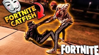 Angry Kid CONFRONTS his CATFISH Fortnite Girlfriend FACE TO FACE! THIS GOT UGLY...