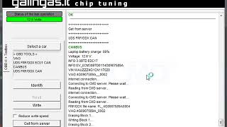 Audi A6 3.0tdi 230kw edc17cp44 engine control unit software update with CMDFlash tool