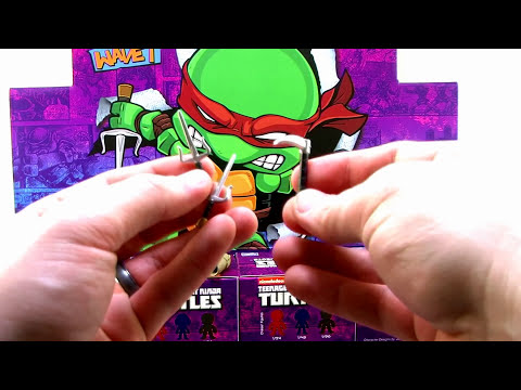 Loyal Subjects Teenage Mutant Ninja Turtles Action Vinyls Mini Figures Unboxing and Video Review