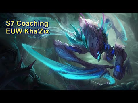 S7 Jungling Tips - Coaching EUW Kha'Zix | League of Legends