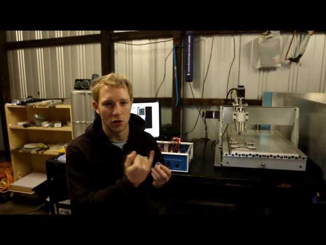 DIY CNC 6040 machine digital probe how to