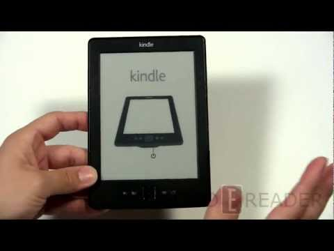 Amazon Kindle 4th Generation 2012 Unboxing