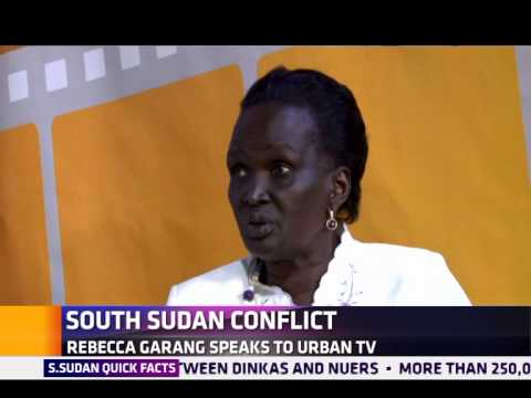 Rebecca Garang Speaks Out On South Sudan Unrest video