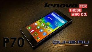 Обзор мощного смартфона Lenovo P70 с гигантским аккумулятором! ◄ Quke.ru ►