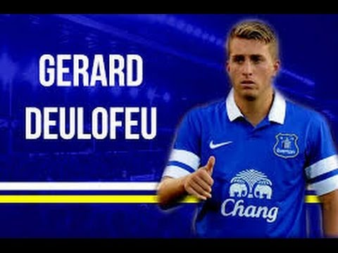Gerard Deulofeu ● Everton's Boost | Skills and Gols ► 2014 HD