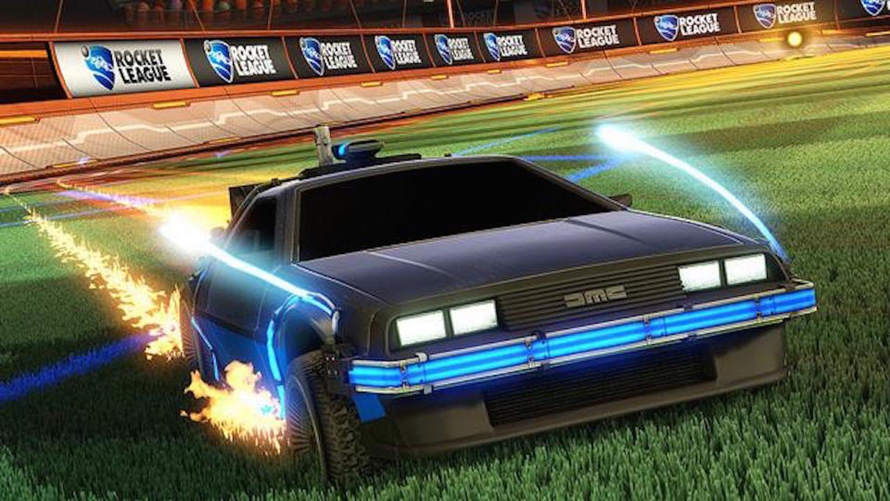 Rocket League - Back to the Future Car Pack DLC