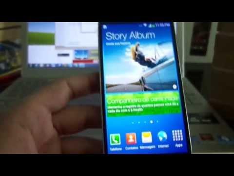 Review e Unboxing Galaxy S4 Português - Brasil - DouGShoP