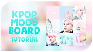 SIMPLE K-POP MOODBOARD