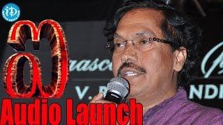 Suddala Ashok Teja Superb Praising Speech on Shankar | I Movie Telugu Audio Launch