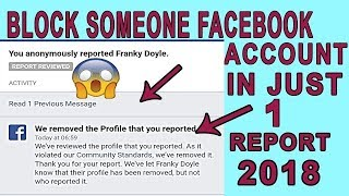 how to block any facebook id one report 100% working