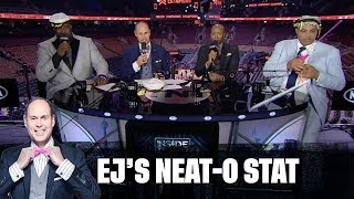 The Bucks, Blazers and TNT Crew Have Gone Fishin' | EJ's Neato Stat of the Night