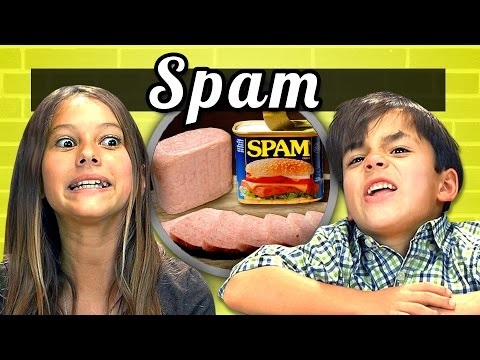 Kids Vs. Food #8 - Spam video