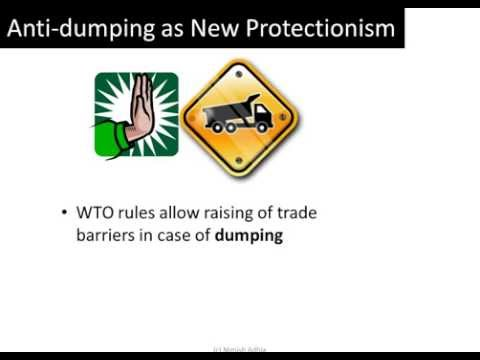 anti dumping and protectionism Review and analysis of protectionist actions  anti-dumping  t&a industries have a long history of protectionism through the multi-fiber arrangement.