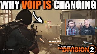 WHY THE DIVISION 2 VOIP IS BEING CHANGED   Ubisoft Developers Insight & My Thoughts on VOIP Changes