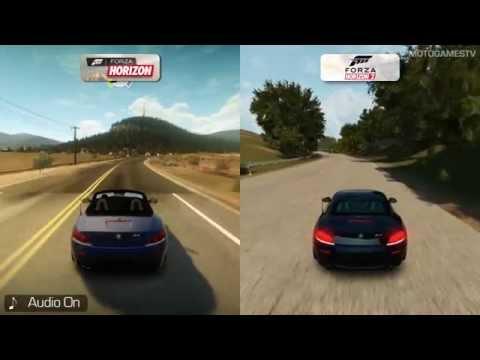 Forza Horizon vs Forza Horizon 2 - Xbox 360 - Graphics Comparison