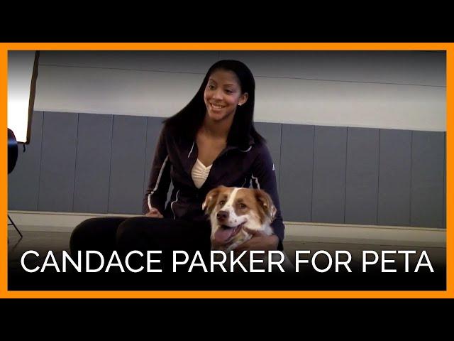 Candace Parker for PETA