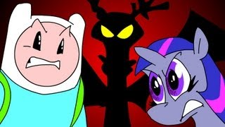 ULTIMATE RAP BATTLE FINN & JAKE vs MLP - UCF6 part 1 of 3