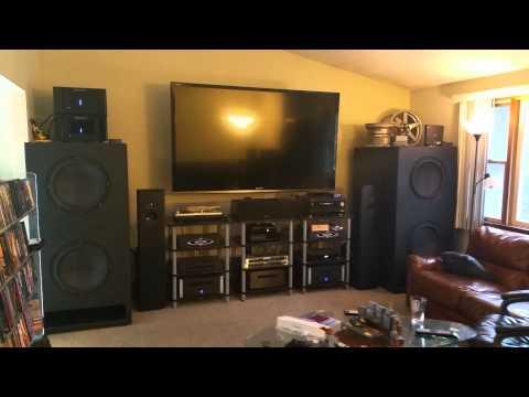 4) Dayton Ultimax 18 -Custom Home Theater