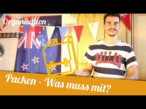 Packen | Was brauche ich für Work and Travel? | Organisation