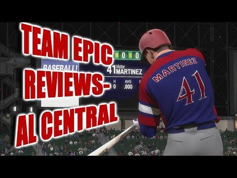 TEAM EPIC REVIEWS! - AL Central - MLB The Show 18