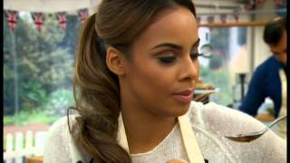 Rochelle Humes - The Great Sport Relief Bake Off (part 1) - BBC Two - 16th January 2014