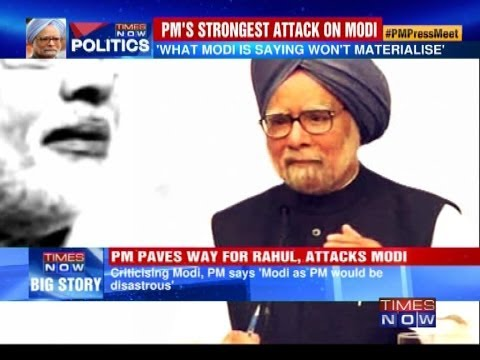 'Narendra Modi as PM would be disastrous' - Prime Minister Manmohan Singh