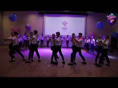 """Финал конкурса """"Танцуй, школа!"""": выступление команды школы №27"""