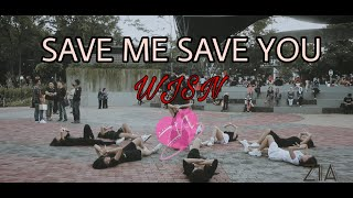 """[KPOP IN PUBLIC CHALLENGE] WJSN (우주소녀) _ """"SAVE ME SAVE YOU"""" (부탁해) by ZIA from Indonesia"""