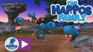 Happos Cartoon Compilation 2 for kids I The Happos Family (Full episodes)