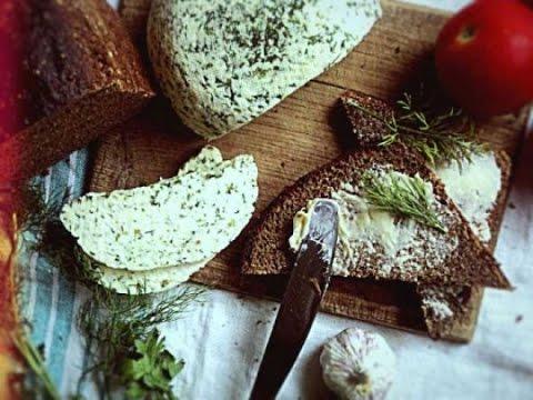 Брынза с зеленью. brânză