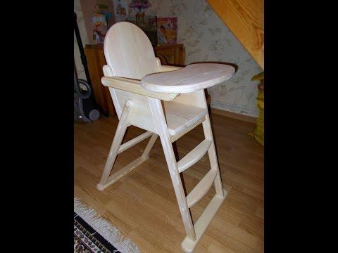 Своими руками стульчик для кормления ютуб