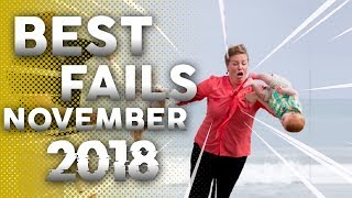 BEST FAILS NOVEMBER 2018 - FAILS OF THE WEAK - FUNNY FAIL COMPILATION ‹FAILGANG›