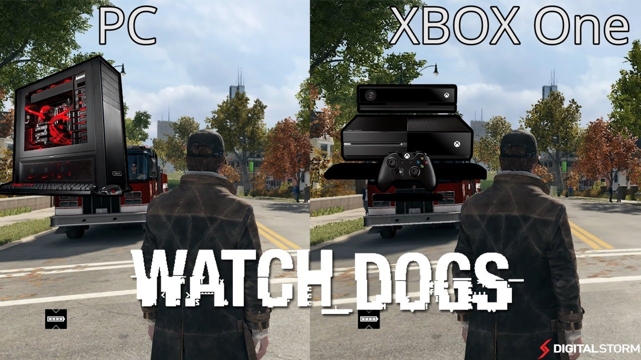 Watch Dogs Xbox One vs PC Graphics Comparison (Using ...