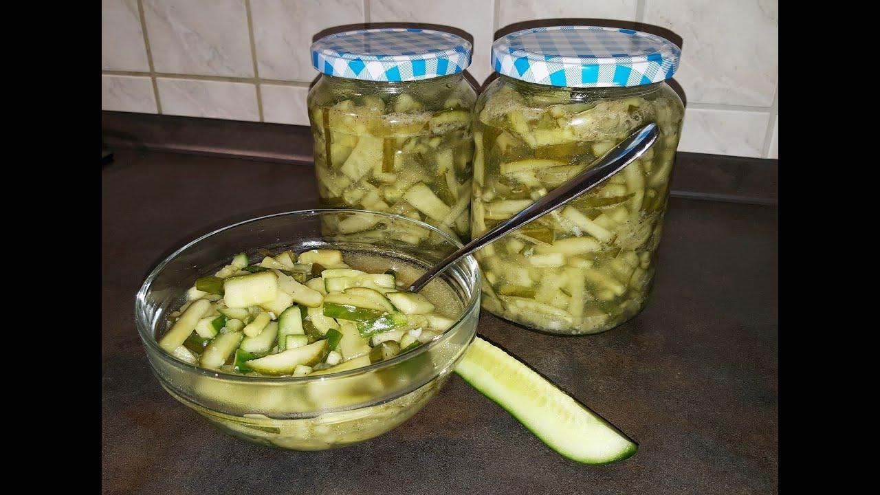 Салат с огурцами на зиму рецепт с пошаговым фото