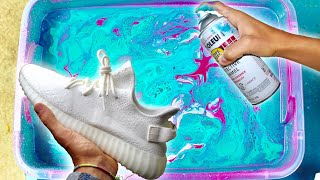 HYDRO Dipping YEEZY'S!!! (Giveaway)