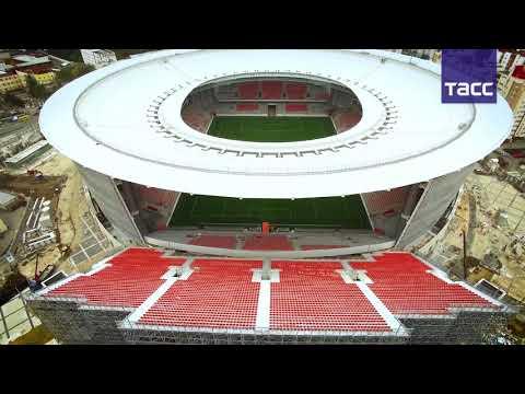 Екатеринбург-Арена будет открыта в декабре