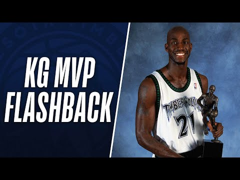 Kevin Garnett Flashback to MVP Season