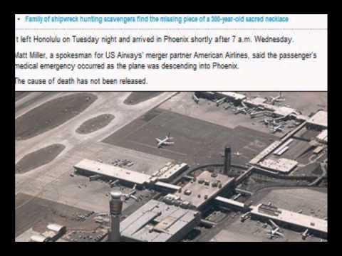 Mystery Passenger Dies on US Airways Flight to Phoenix